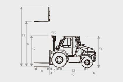 Puma GL6 4WD Gelaende Gabelstapler 03